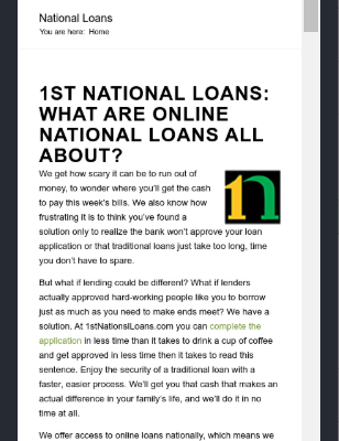 Who offers payday loans online